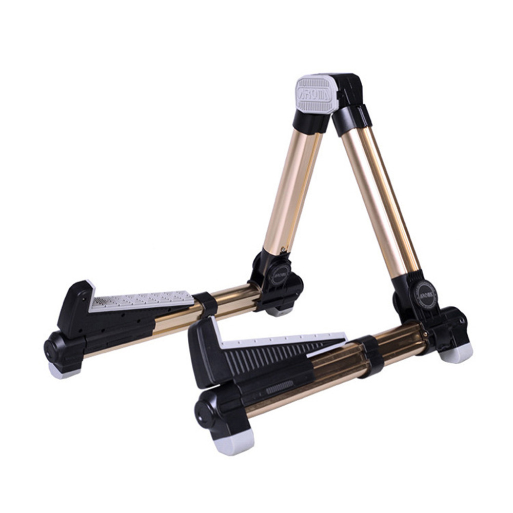 Guitar Stand Universal Folding A-Frame use for Acoustic Electric Guitars guitar floor stand holder free shipping folding a frame guitar stand rack
