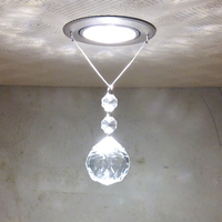 Modern Crystal LED Ceiling Light Fixture Simple Lamp Lustre Light Fitting Lamp For Aisle Hallway Porch