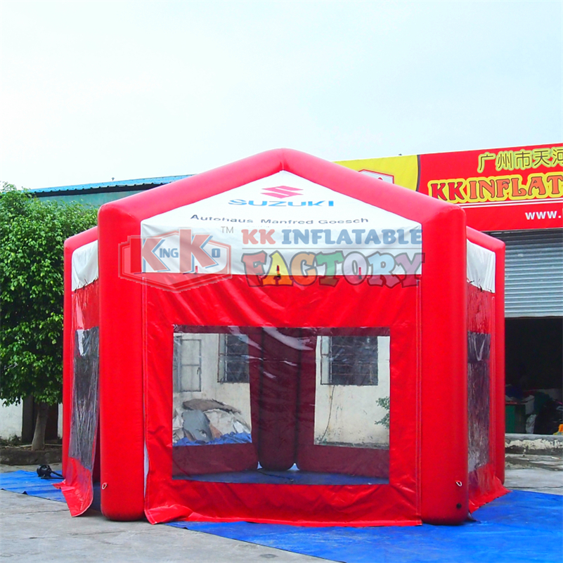 0.6mm PVC Tarpaulin Outdoor Advertising Inflatable Tent For Camping Use