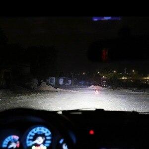 Image 4 - Auxmart LED H7 H4 H11 لمبة H1 H3 HB4 9006 HB3 9005 H13 LED مجموعة مصابيح سيارة 72W 8000lm 6500K LED مصباح السيارات H 7 11 LED سيارة ضوء 12v