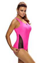 Buy 2018 New Swimsuit Summer One Piece Front Zipper Beachwear Sexy Bandage Criss Cross Tank Bodysuit Swimwear Bathing Suit Q410038 deliver