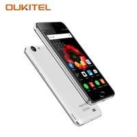 K4000 OUKITEL Plus 5.0 Polegada Smartphone Android 6.0 MTK 6737 Quad Core 2 + 16 GB 13.0MP 4G LTE telefone Digital Móvel 4100 mAh celular