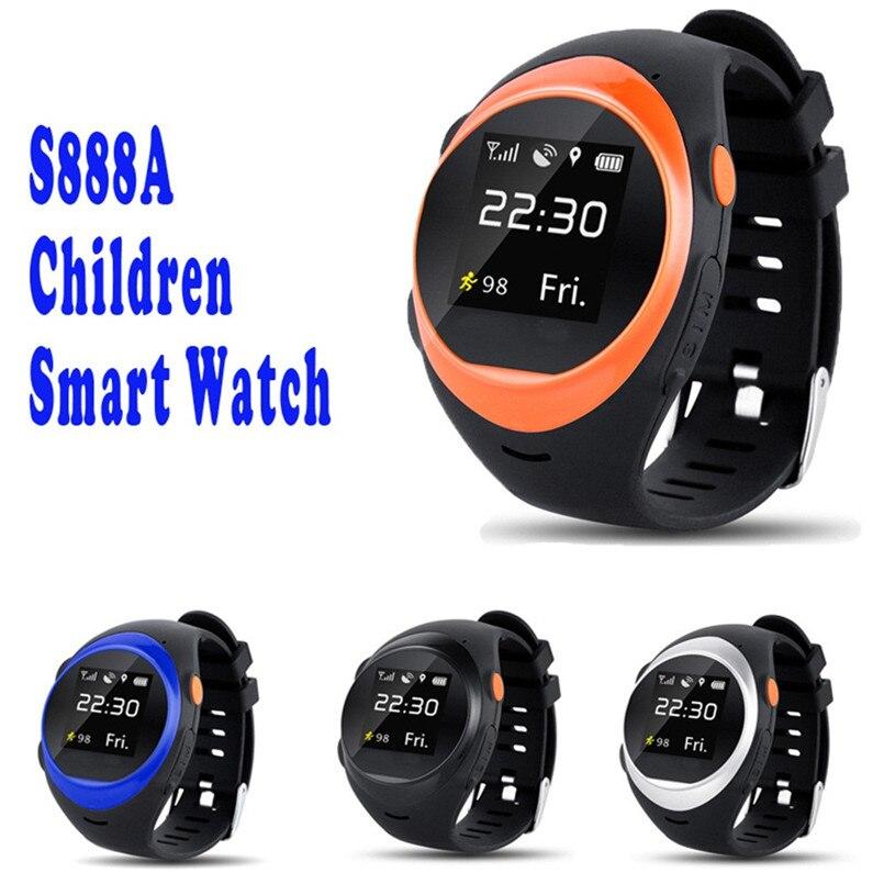 ZGPAX S888A GPS Wifi Smartwatch for Kids Elderly Safety Watch Children Security