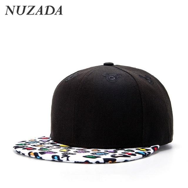 Brands NUZADA Quality Materials Sports Men Women Baseball Caps Hip Hop Hats Snapback   Bone Fashion Printing Design Cap jt-048