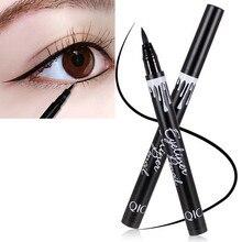 Hot 1PC Waterproof Black Liquid Eyeliner Pencil Big Eyes Makeup Long-lasting Eye Liner Pen Make up Smooth Fast Dry Cat