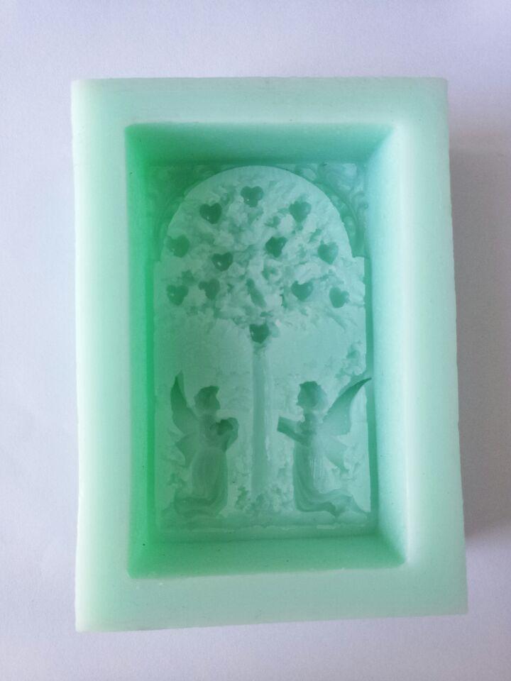 mələk ağacı Silikon kalıpları sabun kalıp silikon sabun - Mətbəx, yemək otağı və barı - Fotoqrafiya 2