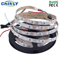 DC5V 1m 4m 5m WS2812B individually addressable Smart led pixel strip,Black/White PCB,30 60 144 leds/m WS2812B IC,Waterproof