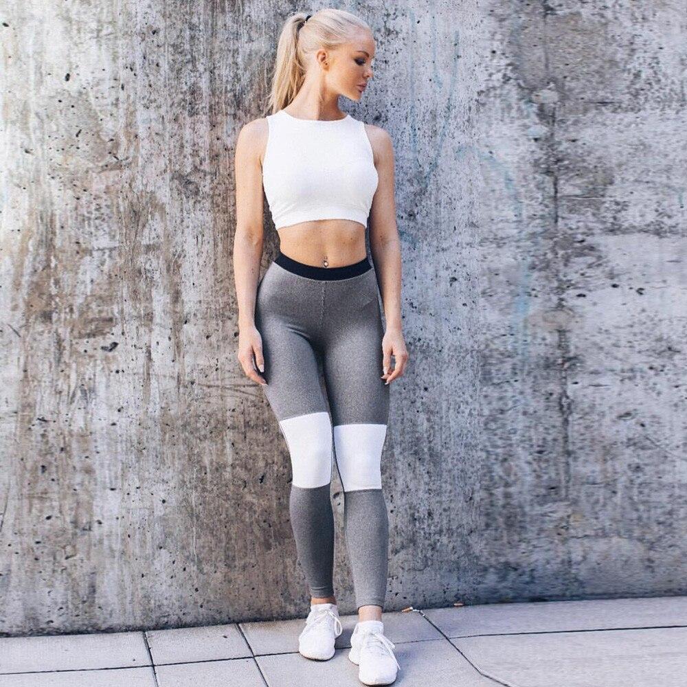 Womail Brand Drop Shipping Yoga Pants Women High Waist Yoga Fitness Leggings Running Gym Stretch Sports Pants Trousers