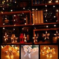 bowarepro DC 3V Light LED String Star LED Lighting Christmas Party Christmas holiday LED KTV Light Fairy String Bar Light Garden
