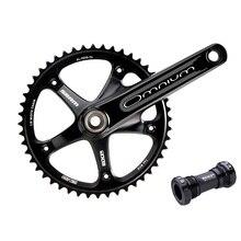 SRAM Omnium Crankset/fixed gear chainwheel/SINGLE SPEED TRACK BIKE CRANKSETS  48T 170 crankset /bicycle chainwheel for road bike