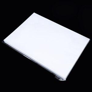 Image 5 - 100 יח\חבילה A4 גודל מיוחד UV צללים הדפסת נייר להכנת תמונה זכוכית קרושון תכשיטים