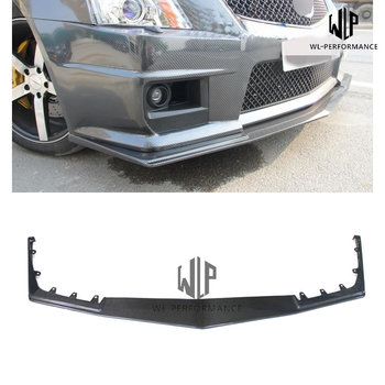 High Quality Carbon Fiber Front Lip Splitter Car Styling For Cadillac CTS V Style Car Body Kit 2005-2014 image