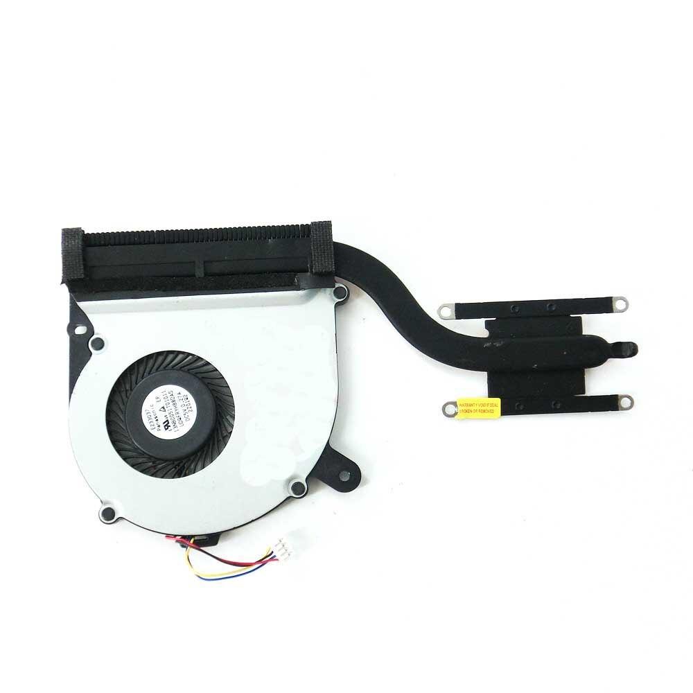free shipping S400CA For ASUS S400 S400C S400CA S500C S500CA Laptop CPU Cooling Fan Heatsink Heat Sink Cooler