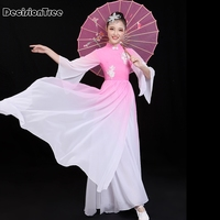 2019 new chinese traditional fairy costume ancient han dynasty princess clothing national hanfu outfit stage dress folk dance