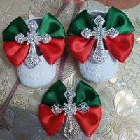 Custom Christmas style bow princess rhinestone baby Shoes baby toddler bling First Walkers baby girl shoes Noble wine hairband
