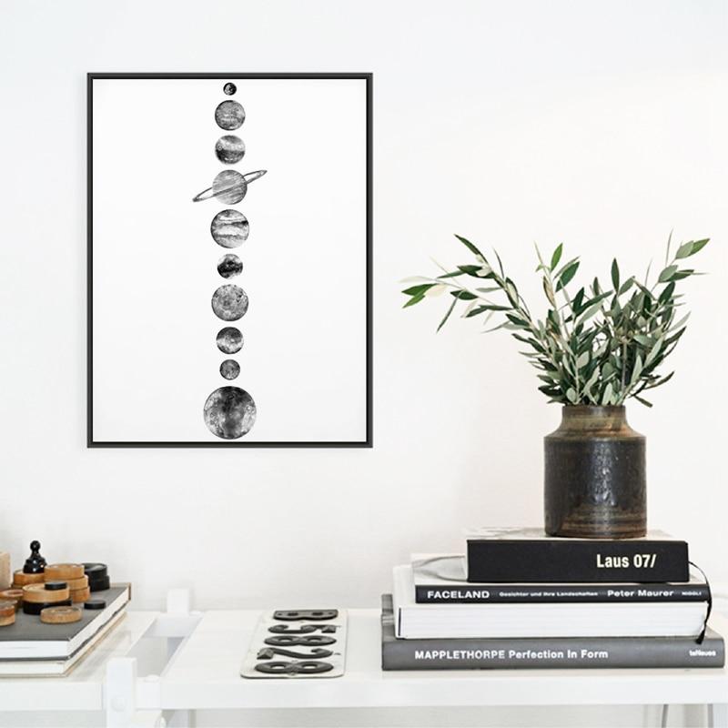 Solar System Wall Art Print