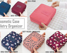 Women Travel Cosmetic Bag Organizer Pouch Toiletry Make Up Bag
