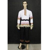 High Quality Custom Made Man Or Children Russian National Dress,Folk Dancing Tops For Men Jackets Drop Shipping Free Shipping