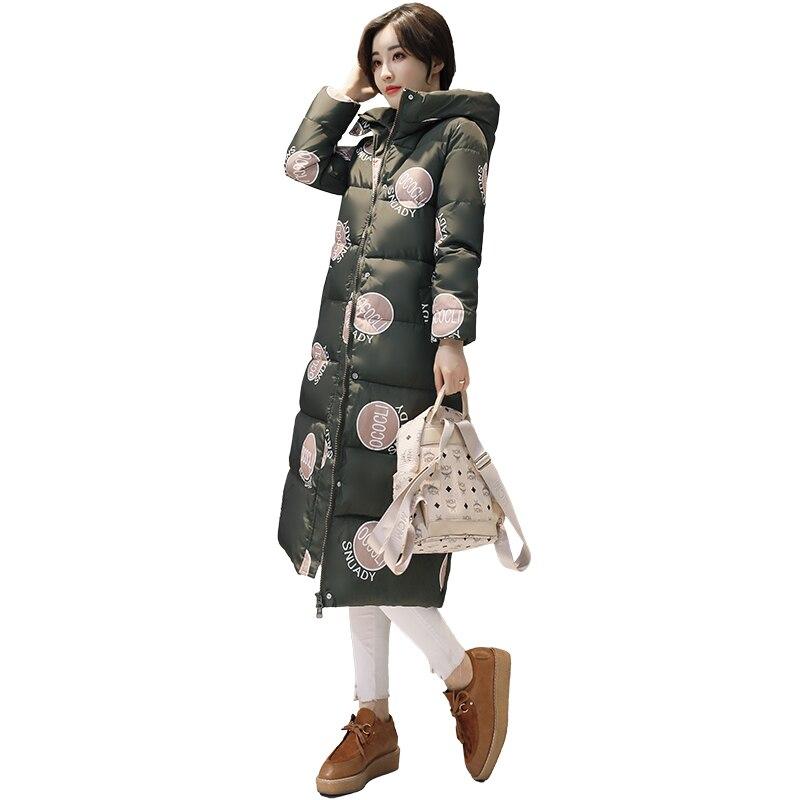 KUYOMENS 2017 Free Shipping New Autumn Winter Coat Design Padded Down Cotton Plus Size Slim Jacket Hooded Zipper Women Fashion