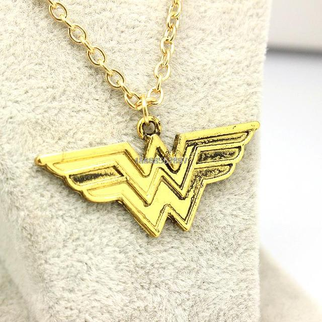 Wonder Woman Pendant Necklace
