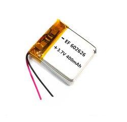 1 шт. 3,7 V 400mAH 602525 602626 PLIB полимерный литий-ионный/литий-ионный аккумулятор для смарт-часов GPS