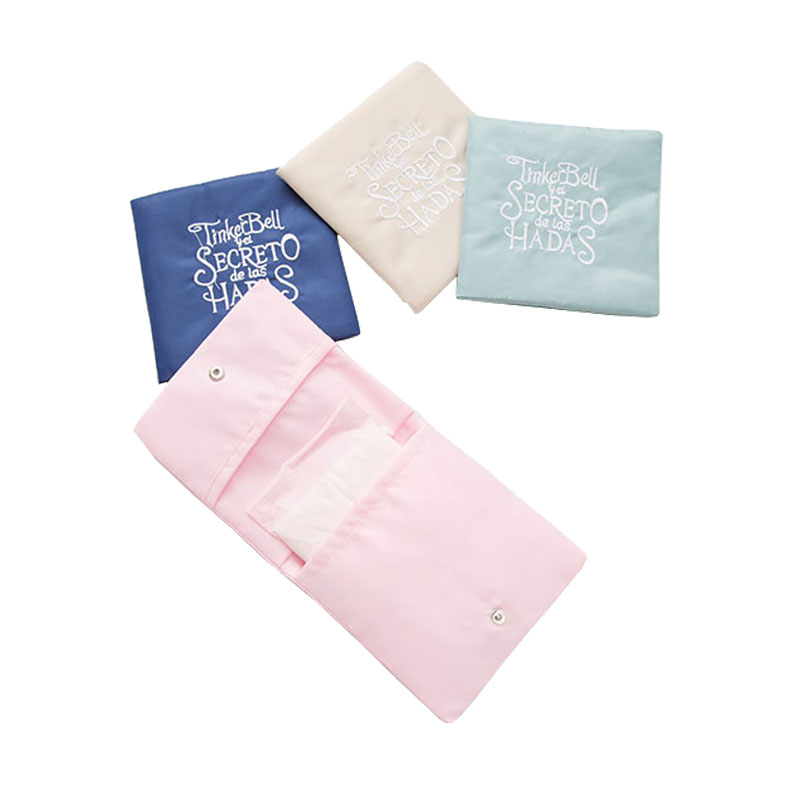 2018 New Lady Travel Sanitary Napkin Bags Double Deck Fresh Travel Or Business Napkin Towel Pouches Bag