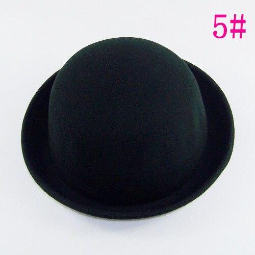 Bnaturalwell niñas clásico lana Fedora sombrero Trilby niño sintió cúpula  sombrero redondo sombrero de bombín Dome Cap Estilo Vintage BH176 en  Sombreros y ... 3cb02cac834