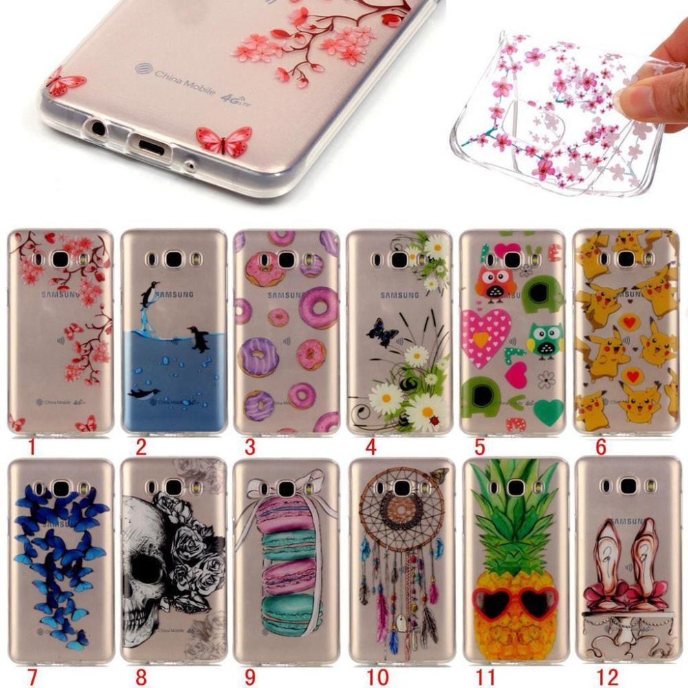 TPU Phone Cases for Sumsung S6 S6 Edge S5 Cute PIKA Printing Pattern Clear Back Cover Case for Samsung s7 s7 Edge Conque
