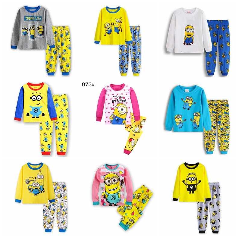 Новый мультфильм хлопок Мягкая Пижама для мальчиков комплекты осень с  длинным рукавом для детей одежда для 7a27ed846ace0