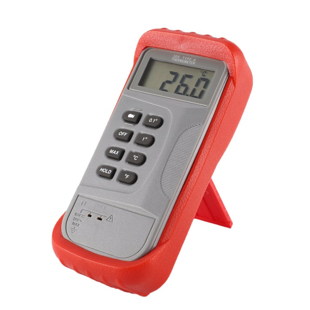 JTW Digital Thermocouple Longlife lasting Thermometer Handheld Temperature Meter For Dual K type LCD Poratable Tester Measure