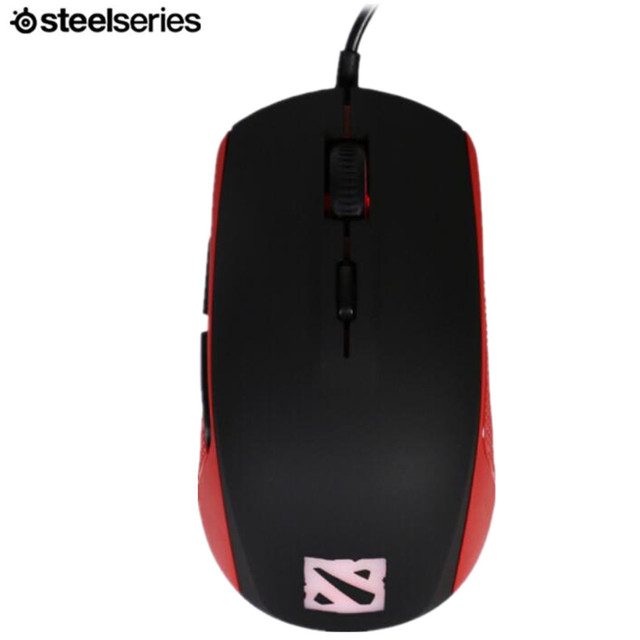 ca1fc3d70bc SteelSeries RIVAL 100 dota2 RGB optical wired gaming mouse gaming  customized version of LOL / CF