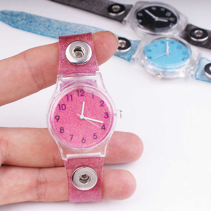 Christmas  NEW  12mm Snap button watch  for girls boys  Fashion Good Quality   TA526