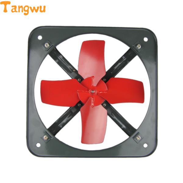 Ventilateur pièces cuisine fumées échappement ventilateur fenêtre carré puissant ventilateur 12 pouces boule moteur échappement ventilateur