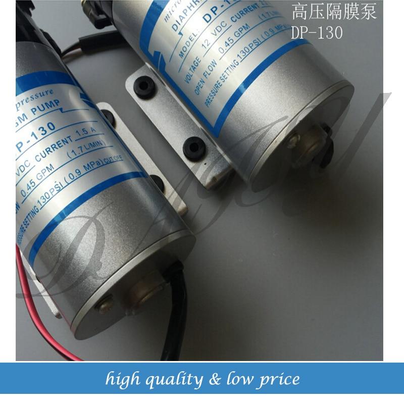 DP-130 15W Diaphragm high pressure small electric Water Pump 1.7L/min Sprayer Pump 1l min 12v dc 15w 1mpa high pressure pump mist fog spray maker electric sprayer diaphragm pump