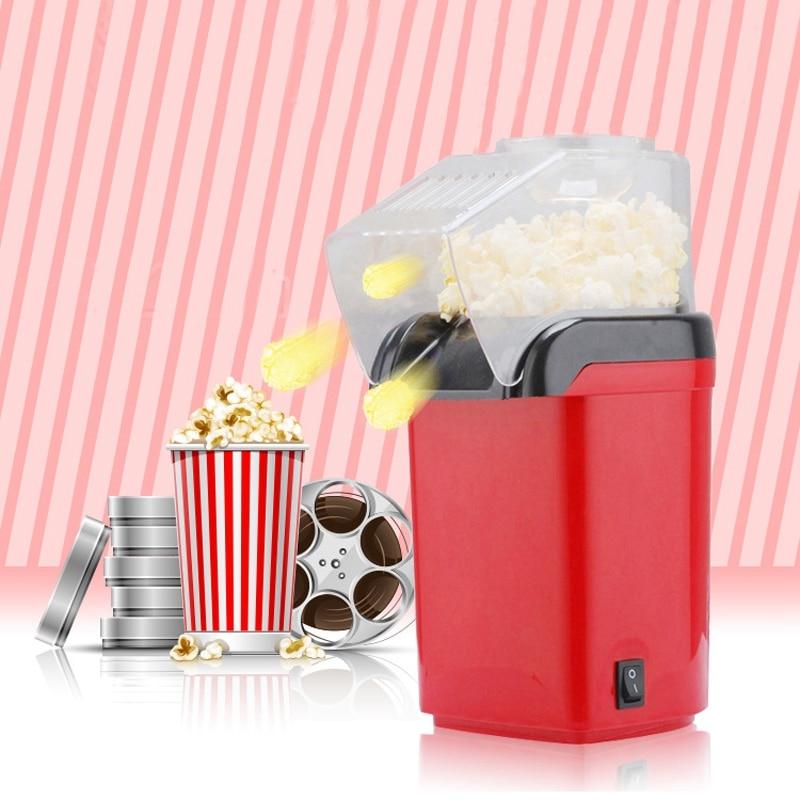 Hot Air Oil-Free 1200W Mini Household Healthy Popcorn Maker Machine Corn Popper For Home Kitchen Eu Plug