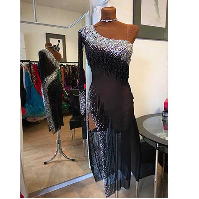 Rumba Jive Chacha Ballroom Latin Dance Dress Girls Women,Competition Latin Dance Dress, Sunflower Dance Dress,latin Dress Dance