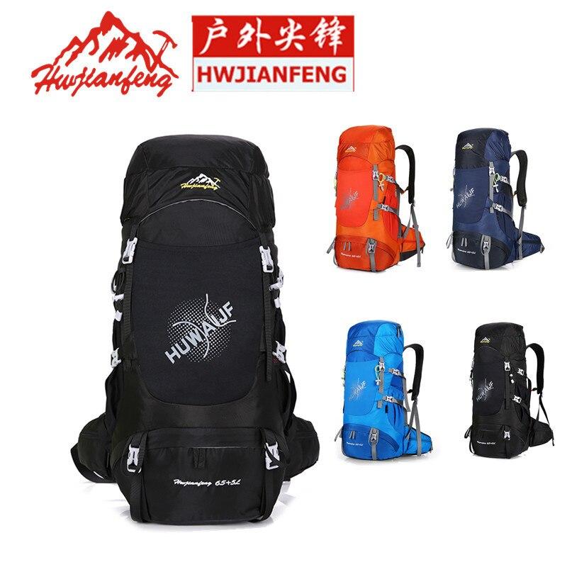 Haute qualité professionnel alpinisme escalade sac à dos Trekking pack camp équipement randonnée gear 50L 60L pour hommes femmes