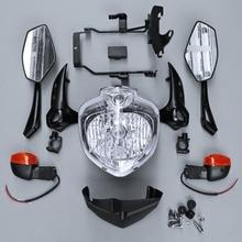 Головной светильник набор головной светильник в сборе подходит для Yamaha FZ6 FZ6N FZ-6N 2007-2010 2008 2009