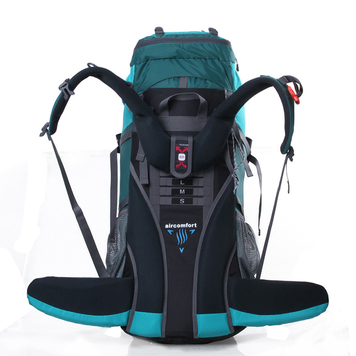 70L Professional Mountaineering Bag Outdoor Travel Backpack Men And Women Waterproof Hiking Backpack 80L A4840 2018 new men women 18l ipx6 waterproof travel backpack outdoor sport hiking backpack mountaineering bag camp retractable bag
