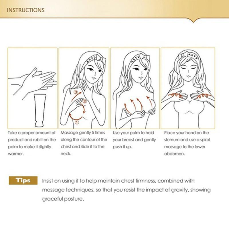 New Women Breast Enlargement Cream Effective Breast Enlargement Boobs  Beauty massage Breast Enlarge Firming Enhancement Cream