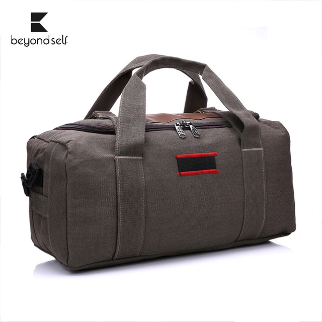 8543c3bd792 US $16.92 37% OFF|Sports Bag Gym Bags Men Fitness Travel Handbag One  Shoulder Backpack Gym Bag Canvas Handheld Outdoor Pack Sport Bag  Rucksack-in Gym ...