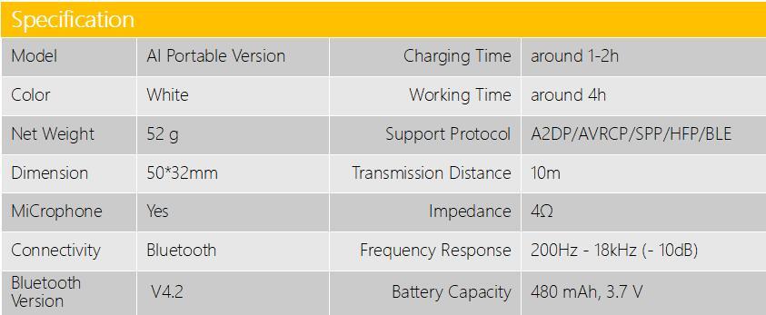 Xiaomi AI Altavoz Bluetooth portátil 9