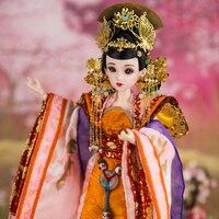 מזרח קסם אמיתי 1/6 כמו צ 'אנג שמש מלכה עם איפור BJD Blyth הבובה צעצועים באיכות גבוהה מתנה במהדורה מוגבלת