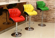 boss chair lifting rotation stool white color yellow color retail wholesale free shipping