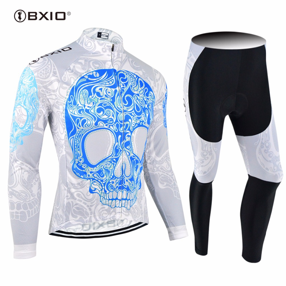 2017 New Arrival BXIO Cycling Jerseys Maillot Ciclismo Hombre Autumn Ropa Pro Bicycle Clothing MTB Bike
