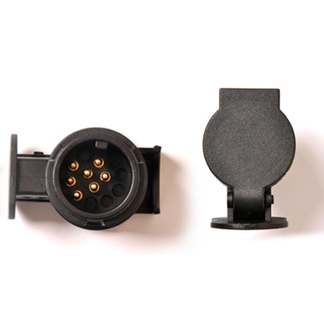 Dewtreetali 12v 13 To 7 Pins Plug Trailer Connector