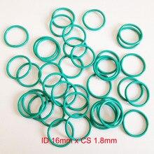 ID16mm*CS1.8mm VITON FKM rubber seal gasket o ring oring cord id5mm cs1 8mm viton rubber o rings oring seal gasket