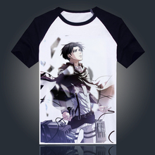 Attack on Titan T shirt New Anime Breathable Cosplay T Shirt Fashion Short Sleeve Tops Tees