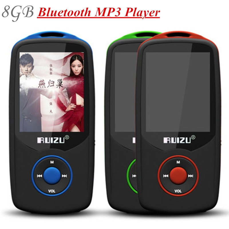 100% Original RUIZU X06 8GB Bluetooth mp3 player 1.8 Inch 100Hr High  Quality Lossless Recorder FM Radio Walkman + Free Lanyard 9e85361040bb