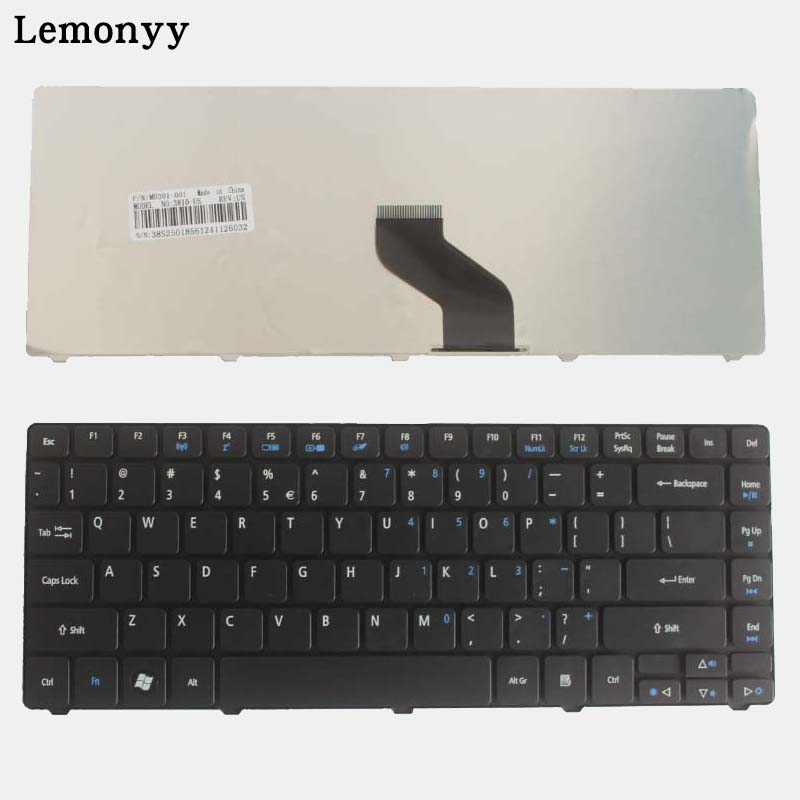 NEW FOR Acer Aspire 4738 4738G 4738Z 4738ZG 4741 4741Z 4741G 4741ZG 4820 4820G 4820TG US BLacK Laptop Keyboard lin king women sweet bow lolita low heel dress shoes princess pumps student party shoes casual spring round toe ladies pumps